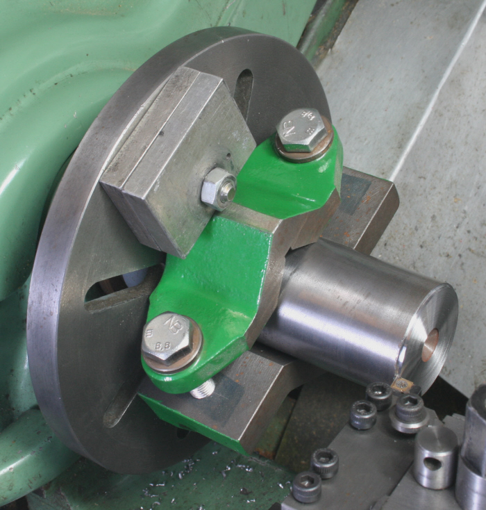 Using the Metalworking Lathe's Faceplate 06