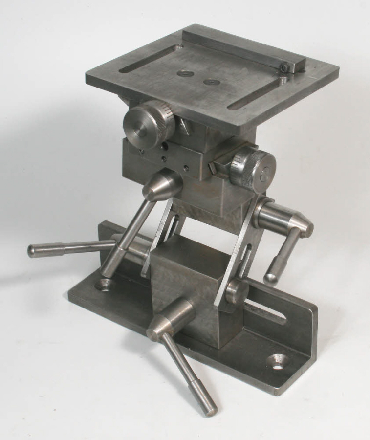 Grinding Rest Mounting Method