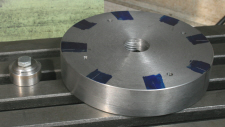 Four Jaw Chuck, an alternative, making