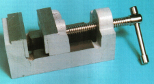 Budget Drilling Vice, to be used as the basis for a precision toolmakers' vice.