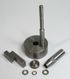 Lathe tool height gauge