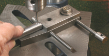 Toolmakers Clamps, Used for cross drilling