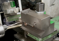 Cross Drilling Jig, using