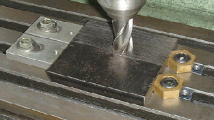 Low Profile Milling Table Workpiece Clamps