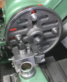Face Plate, machining mount
