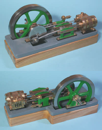 "Stationary steam engine ""Tina"""