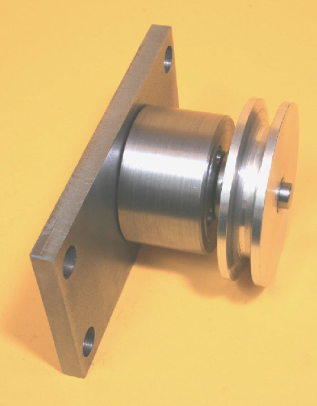 Filing Machine, input drive spindle