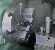 Four Jaw Chuck, an alternative