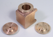 Holes on a Pitch Circle Diameter (PCD), Steam engine Cylinder Block